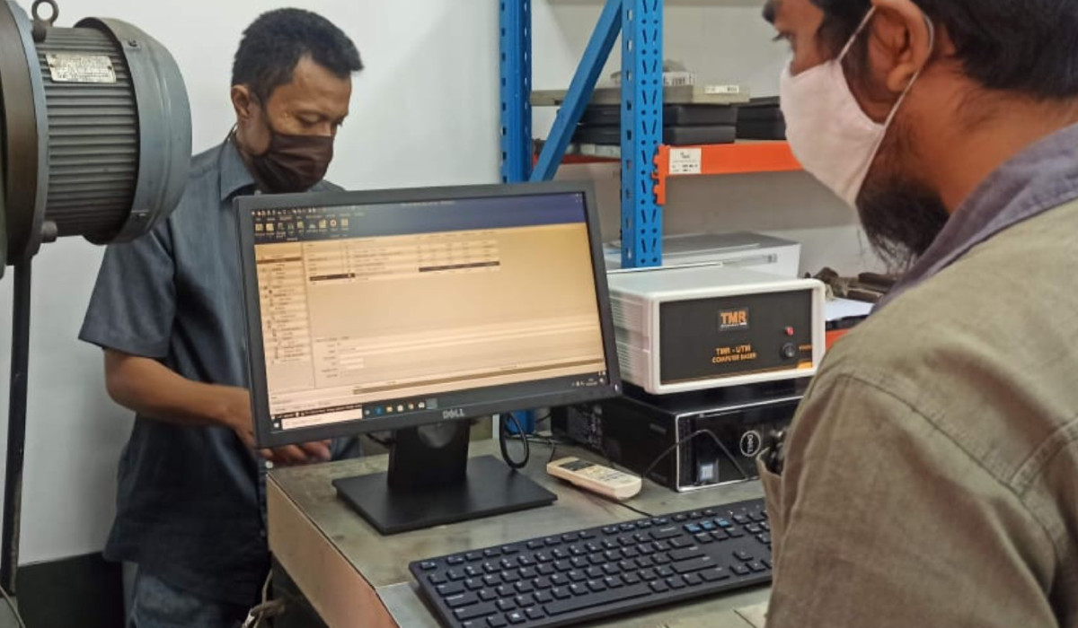 Repair Upgrade Mesin UTM